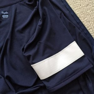 Inside of the sleeve showing construction of armband material
