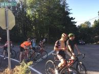 dan, seb, tom, joe,lacava,peter at end of the 61st climb