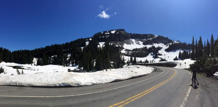 Just below Chinook Pass is Tipsoo Lake